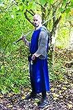SAY Langer Mittelalter Waffenrock mit Gehschlitz - Blau