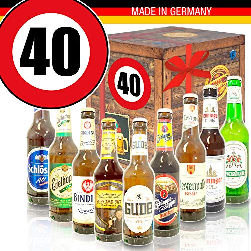 0. für Männer - Bier Geschenk + Geschenkset 40ter ()