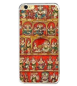 Fiobs Designer Back Case Cover for Apple iPhone 6 Plus :: Apple iPhone 6+ (Multicolor Ethnic Design Hindu God)