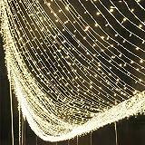 WQRTT Garten-Schnur-Lichter im Freien, Garten-Patio-Außenseite Lichterketten, Wasserdichte Innen-/Schnur-Lichter im Freien, Großer Garten-Terrasse-Patio Außerhalb der Weihnachtslichter,30M,300LIGHT