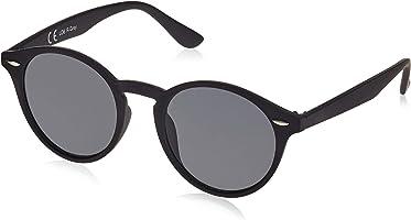 Original La Optica UV400 Unisex Retro Sonnenbrille Rund - Farben, Einzel-/Doppelpacks, Verspiegelt