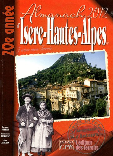 Almanach de l'Isère hautes alpes 2012