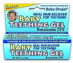 Budpak Baby Teething Gel, 0.5 Ounce