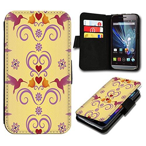 Book Style HTC Desire 310 Premium PU-Leder Tasche Flip Brieftasche Handy Hülle mit Kartenfächer für HTC Desire 310 - Design Flip SV107