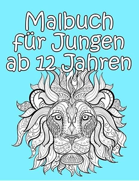 Malbuch Fur Jungen Ab 12 Jahren Detailreiche Und Interessante Motive Zum Ausmalen Fur Jungs Amazon De Malbuch Ap Bucher