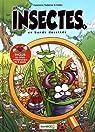 Les insectes en bande dessinée, Tome 1 par Cazenove