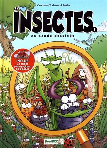 Les Insectes en BD - tome 1