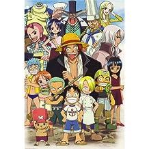 One Piece Luffy Poster On Silk <35cm x 52cm, 14inch x 21inch> - Cartel de Seda - CC754C