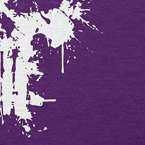 TEXLAB - Punish Splash - Herren T-Shirt Violett