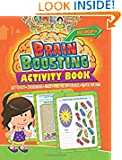 #8: Brain Boosting Activity Book: Match the Pair, Find the Difference, Maze, Crossword, Dot-to-Dot  (5+ Yrs)