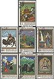 Mongolei 503-509 (kompl.Ausg.) 1968 Gemälde (Briefmarken für Sammler)