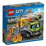 LEGO City 60124 - Set Costruzioni City Vulcano Base delle Esplorazioni Vulcanica LEGO