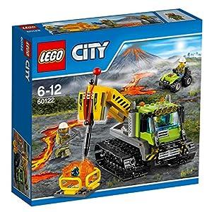 LEGO city Set Costruzioni Vulcano Cingolato Vulcanico, Colore Vari, 60122 5702015594837 LEGO