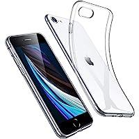 ESR Cover Compatibile con iPhone SE 2020,8,7, Poliuretano Resistente all'Ingiallimento Custodia in Silicone Flessibile…