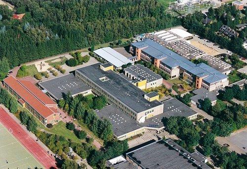 MF Matthias Friedel - Luftbildfotografie Luftbild von Sprötzer Weg in Buchholz (Harburg), aufgenommen am 26.09.03 um 11:42 Uhr, Bildnummer: 2632-04, Auflösung: 3000x2000px = 6MP - Fotoabzug 50x75cm