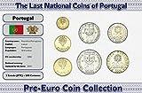 IMPACTO COLECCIONABLES Portugal, 7 Münzen - Jahr 1986-2001 - Escudos Blistercard
