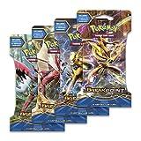 "Pokemon XY9 ""Break Point"" 4x Booster Pacchetti = 40 Carte Supplementari per Pokemon TCG (inglese)"
