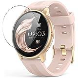 Vaxson 3 sztuki folii ochronnej, kompatybilna z AGPTEK LW11 smart watch, folia ochronna na wyświetlacz TPU [szkło pancerne]