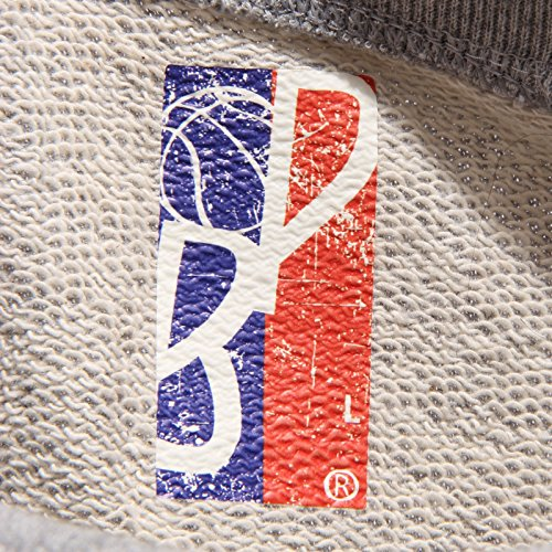 4724Q felpa grigia garzata BP felpe uomo sweatshirt men Grigio