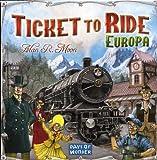 Giochi Uniti Ticket to Ride Europa - Juego de mesa (en italiano) [Importado de Italia]