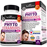 Phytoceramides 350 mg with Biotin 5000 - Gluten Free Powerful Anti-Aging Skin Care Vitamins and Skin Rejuvenation. Plant Derived - Formulated by Doctors - Works for Hair Skin and Nails