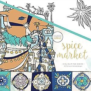 Kaisercraft - Libro para colorear Spice Market (CL518)