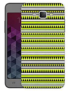 "Humor Gang Green Aztec Ethnic Print Printed Designer Mobile Back Cover For ""Samsung Galaxy A8"" (3D, Matte Finish, Premium Quality, Protective Snap On Slim Hard Phone Case, Multi Color)…"