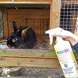 Bio-Reiniger und Geruchsneutralisierer Spray Probisa Micro-Vet 813 für Hund, Katze, Nager und Haustiere in Wohnung, Käfig und Stall (Komplettset – 0,5 Liter Konzentrat ergeben 25 Liter gebrauchsfertigen Geruchskiller) - 5
