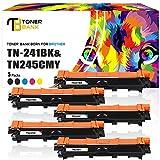 Toner Bank 5 Toner für Brother TN-241 TN-245 TN-241BK TN-245C TN-245Y TN-245M für Brother MFC 9332CDW 9332 9342 CDW 9142 CDN 9142CDN 9140CDN DCP 9022CDW 9022 9017 CDW 9017CDW HL-3152CDW HL-3142CW MFC-9332CDW DCP-9022CDW MFC-9142CDN Printer Laser Toner
