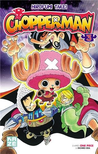 Chopperman Edition simple Tome 3