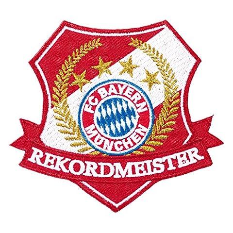 Aufnäher Rekordmeister FC Bayern München