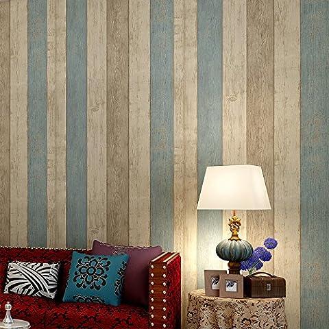 FUMIMID No tejido moderno minimalista Mediterr¨¢neo Oriental estilo retro apenado rayas las paredes del living comedor dormitorio ,