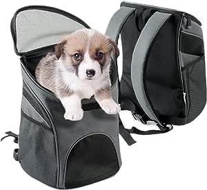 Zodae Hunderucksack Haustier Katze Tragetasche Stoff Schulterriemen Haustier Rucksack Für Kleine Hunde Und Katzen Haustier