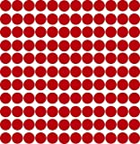 Kleberio® 858 Klebepunkte 6mm aus PVC-Spezialfolie von ORAFOL selbstklebend glänzend Farbe: rot Markierungspunkte Außenbereich