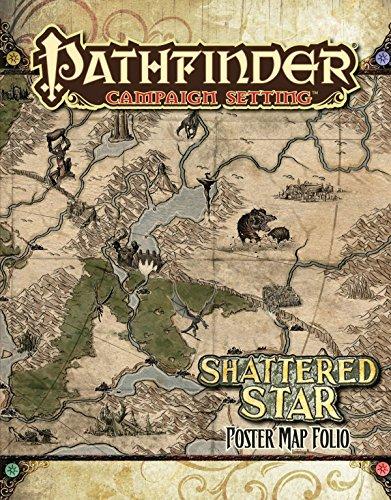 Pathfinder Campaign Setting: Shattered Star Poster Map Folio por Robert Lazzaretti