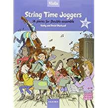 String Time Joggers Violin book + CD: 14 pieces for flexible ensemble (String Time Ensembles)