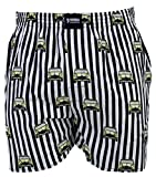 HAPPY SHORTS Webboxer Herren Boxer Motiv Boxershorts FARBWAHL , Grösse:S - 4 - 48, Präzise Farbe:Design 12