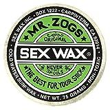 Mr Zogs Parafina–temperatura de agua fría, con aroma de coco, White - Coconut Scented