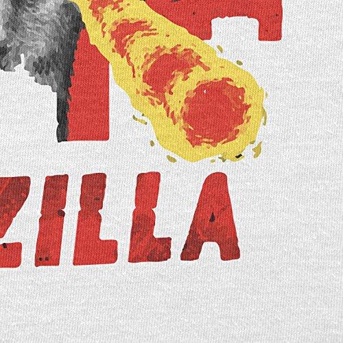 TEXLAB - Catzilla - Herren T-Shirt Weiß