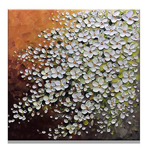 Fasdi-ART Gemälde, Ölgemälde, Landschaft, 3D handgemalt auf Leinwand, abstraktes Kunstwerk, Kunst, Holz, gerahmt zum Aufhängen, Wanddekoration, abstraktes Gemälde Df032