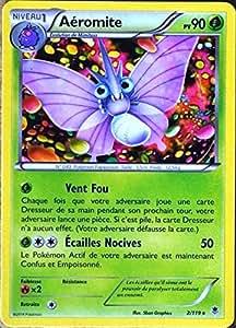 carte Pokémon 2/119 Aéromite 90 PV RARE XY04 Vigueur spectrale NEUF FR