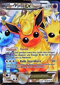 Carte pok mon rc28 pyroli ex 170 pv ultra rare full art jeux et jouets - Pokemon famille pikachu ...