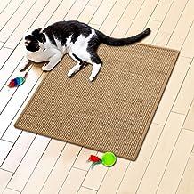 Floori® Sisal Kratzteppich | Naturfaser: nachhaltig und umweltfreundlich | Cork, 60x80cm