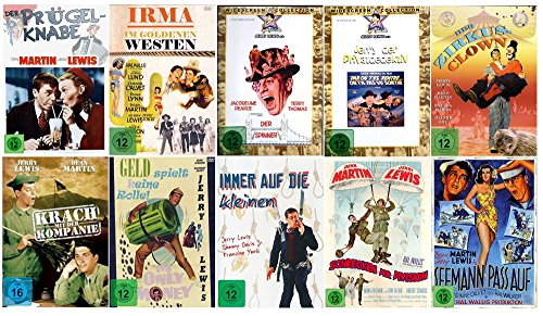 Jerry Lewis Box Fan Collection ( 10 Filme auf 10 DVDs )