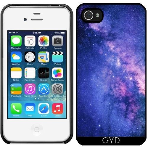Leder Flip Case Tasche Hülle für Apple iPhone 6/6S - Nachthimmel, Universum, Galaxie by Petra Starre Kunststoff