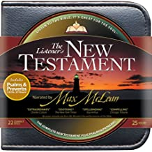 Listener's New Testament with Psalms and Proverbs-NIV