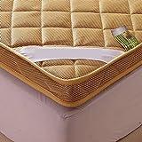 YCTTMM Dicker matratze,Matt Mat Thai-Massage Bett Stock-Bett Betten im schlafsaal Student-D 180x200cm(71x79inch)