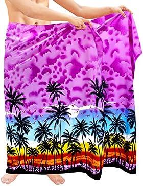 insabbiamento mens costume da bagno costumi da bagno sarong pareo involucro beachwear del costume da bagno hawaiano