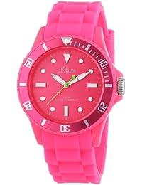 s.Oliver Unisex-Armbanduhr Medium Size Silikon Rosa SO-2333-PQ