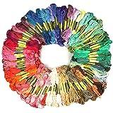 RHIDON 100 Madejas de Hilos para Punto de Cruz manualidades 99 Colores